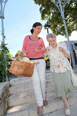 Einkaufshilfe für senioren